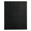 REDIFORM OFFICE PRODUCTS REDA7150BLK Notepro Notebook, 7 1/4 X 9 1/4, White Paper, Black Cover, 75 Ruled Sheets