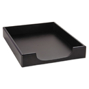 ELDON OFFICE PRODUCTS ROL62523 Wood Tones Letter Desk Tray, Wood, Black