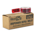 REDI-TAG CORPORATION RTG91037 Arrow Message Page Flag Refills,