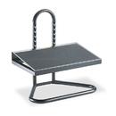 SAFCO PRODUCTS SAF5124 Task Master Adjustable Height Footrest, 20w X 12d X 5 1/2h-15h, Black