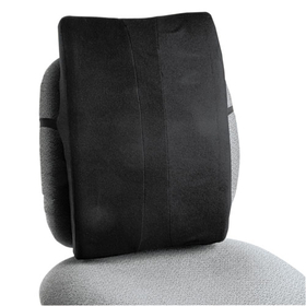 Remedease Full Height Backrest, 14 x 3 x 20, Black, Price/EA
