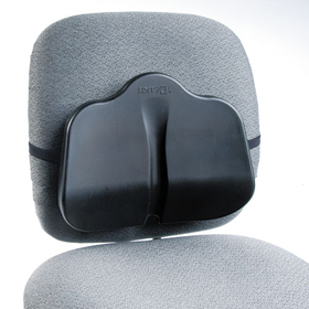 Softspot Low Profile Backrest, 13-1/2W X 3D X 11H, Black, Price/EA