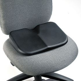 Softspot Seat Cushion, 15-1/2W X 10D X 3H, Black, Price/EA