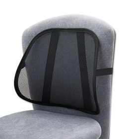 Mesh Backrest, 17-1/2W X 3-1/8D X 15H, Black, Price/EA
