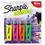 Sharpie SAN1912769 Clearview Highlighter, Blade Tip, Assorted Ink, 4 Per Set