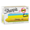 SANFORD INK COMPANY SAN25005 Accent Tank Style Highlighter, Chisel Tip, Yellow, Dozen