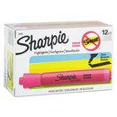 SANFORD INK COMPANY SAN25009 Accent Tank Style Highlighter, Chisel Tip, Pink, Dozen