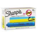 SANFORD INK COMPANY SAN25010 Accent Tank Style Highlighter, Chisel Tip, Blue, Dozen