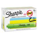SANFORD INK COMPANY SAN25026 Accent Tank Style Highlighter, Chisel Tip, Fluorescent Green, Dozen