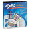 SANFORD INK COMPANY SAN80054 Low-Odor Dry Erase Marker, Eraser & Cleaner, Chisel/fine, 12/set
