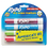 SANFORD INK COMPANY SAN81029 Low Odor Dry Erase Marker, Chisel Tip, Classic Colors Assorted, 4/Set