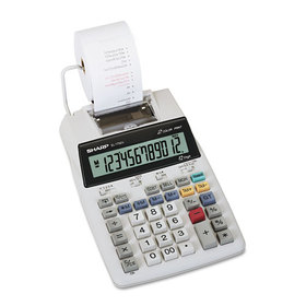 El1750V Lcd Two-Color Printing Calculator, 12-Digit Lcd, Black/Red, Price/EA