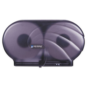 "Oceans Twin 9"" JBT Toilet Tissue Dispenser, 19 x 5 1/4 x 12, Black Pearl, Price/EA"