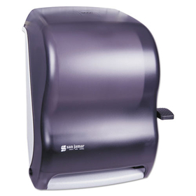 Lever Roll Towel Dispenser W/O Transfer Mechanism, Black, Price/EA