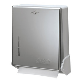 True Fold Metal Front Cabinet Towel Dispenser, 11 5/8 X 5 X 14 1/2, Chrome, Price/EA