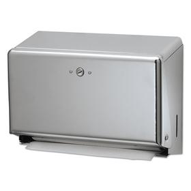 LAGASSE, INC. SJMT1950XC Mini Combination Hand Towel Cabinet, 11 1/8 x 3 7/8 x 7 7/8, Chrome, Price/EA
