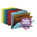 SMEAD MANUFACTURING CO. SMD14025 Pressboard Classification Folders, Letter, Six-Section, Assorted, 10/box