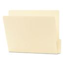 SMEAD MANUFACTURING CO. SMD24137 Folders, 1/3 Cut Bottom, Reinforced End Tab, Letter, Manila, 100/box