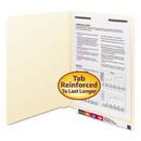 SMEAD MANUFACTURING CO. SMD34110 Manila Folders, One Fastener, End Tab, 11pt, Letter, Manila, 50/box