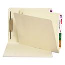 SMEAD MANUFACTURING CO. SMD34210 Manila Folders, One Fastener, End Tab, Letter, 14pt Manila, 50/box