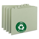 SMEAD MANUFACTURING CO. SMD50369 Recycled Top Tab File Guides, Daily, 1/5 Tab, Pressboard, Letter, 31/set