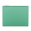 SMEAD MANUFACTURING CO. SMD64061 Hanging File Folders, 1/5 Tab, 11 Point Stock, Letter, Bright Green, 25/box