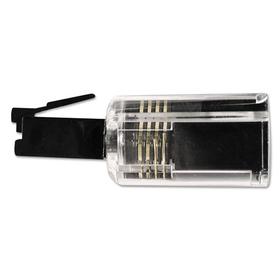 SOFTALK LLC SOF21002 Rotating 360 Telephone Cord Detangler, Clear/Black, Price/EA