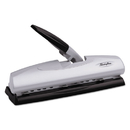 ACCO BRANDS SWI74030 20-Sheet Lighttouch Desktop Two-To-Seven-Hole Punch, 9/32
