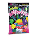 TABLEMATE PRODUCTS, CO. TBL1200 Helium Quality Latex Balloons, 12 Assorted Colors, 144/pack
