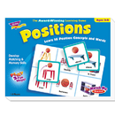 TREND ENTERPRISES, INC. TEPT58104 Positions Match Me Puzzle Game, Ages 5-8