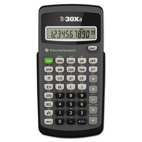 TEXAS INSTRUMENT TEXTI30XA TI-30Xa Scientific Calculator, 10-Digit LCD, Price/EA