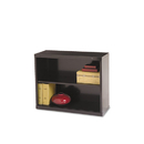TENNSCO TNNB30BK Metal Bookcase, Two-Shelf, 34-1/2w X 13-1/2d X 28h, Black