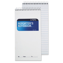 TOPS BUSINESS FORMS TOP8030 Reporter Notebook, Legal/wide, 4 X 8, White, 70 Sheets, Dozen