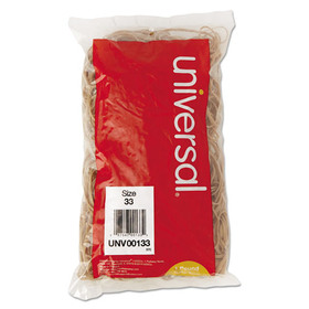 UNIVERSAL PRODUCTS UNV00133 Rubber Bands, Size 33, 3-1/2 x 1/8, 640 Bands/1lb Pack, Price/PK