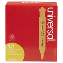 UNIVERSAL PRODUCTS UNV08863 Desk Highlighter, Chisel Tip, Fluorescent Orange, Dozen