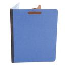 UNIVERSAL PRODUCTS UNV10201 Pressboard Classification Folders, Letter, Four-Section, Cobalt Blue, 10/box
