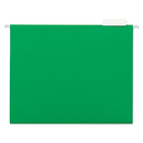 UNIVERSAL PRODUCTS UNV14117 Hanging File Folders, 1/5 Tab, 11 Point Stock, Letter, Green, 25/box