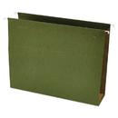 UNIVERSAL PRODUCTS UNV14143 Three Inch Box Bottom Pressboard Hanging Folder, Letter, Standard Green, 25/box