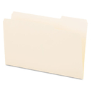 UNIVERSAL PRODUCTS UNV15123 File Folders, 1/3 Cut, One-Ply Top Tab, Third Position, Legal, Manila, 100/box