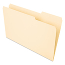 UNIVERSAL PRODUCTS UNV15213 Recycled Interior File Folders, 1/3 Cut Top Tab, Legal, Manila, 100/box