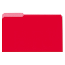 UNIVERSAL PRODUCTS UNV15303 Recycled Interior File Folders, 1/3 Cut Top Tab, Legal, Red, 100/box