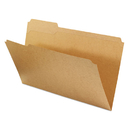 UNIVERSAL PRODUCTS UNV16143 Kraft File Folders, 1/3 Cut Assorted, Top Tab, Legal, Kraft, 100/box