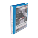 UNIVERSAL PRODUCTS UNV20713 Deluxe Round Ring View Binder, 1
