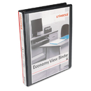 UNIVERSAL PRODUCTS UNV20961CT Economy Round Ring View Binder, 1
