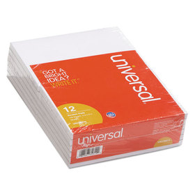 UNIVERSAL PRODUCTS UNV35614 Scratch Pads, Unruled, 4 x 6, White, 100-Sheet Pads, 12 pack, Price/PK