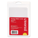 UNIVERSAL PRODUCTS UNV37103 Self-Adhesive Postage Meter Labels, 1-1/2w X 2-3/4 Or 5-1/2, We, 40 Sheets/pack