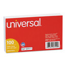 UNIVERSAL PRODUCTS UNV47210 Ruled Index Cards, 3 X 5, White, 100/pack