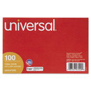 UNIVERSAL PRODUCTS UNV47220 Unruled Index Cards, 4 X 6, White, 100/pack