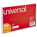 UNIVERSAL PRODUCTS UNV47240 Unruled Index Cards, 5 X 8, White, 100/pack