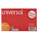 UNIVERSAL PRODUCTS UNV47245 Unruled Index Cards, 5 X 8, White, 500/pack